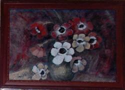 Picturi cu flori Anemone - remember luchian