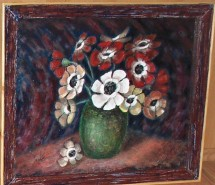 Picturi cu flori Lacrimile lui adonis