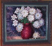 Picturi cu flori Lumini de margarete
