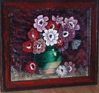 Picturi cu flori Nascute din durere - anemone