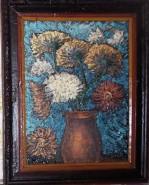 Picturi cu flori Remember van gogh - crizanteme