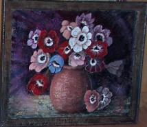 Picturi cu flori Ultimele anemone