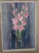 Picturi cu flori Flori in vaza