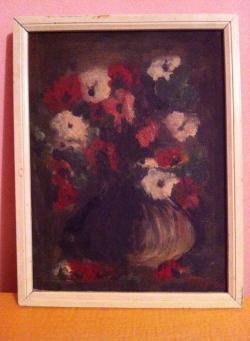 Picturi cu flori flori in vas