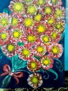 Picturi cu flori Buchetul clasei grupei