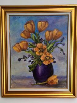 Picturi cu flori Lalele ..