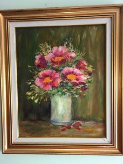 Picturi cu flori Suâsul florilor.