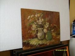 Picturi cu flori Vaza cu flori