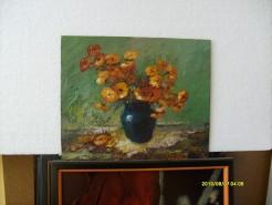 Picturi cu flori Vaza cu flori 11