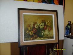 Picturi cu flori Vaza cu flori 25
