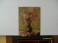 Picturi cu flori Vaza cu flori 6