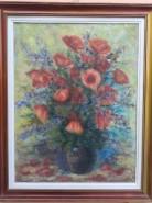 Picturi cu flori Macii de camp