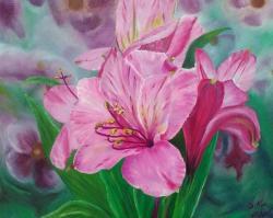 Picturi cu flori Numai eu