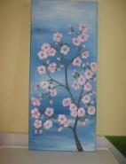 Picturi cu flori Ram cu flori