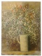 Picturi cu flori Floarea miresii