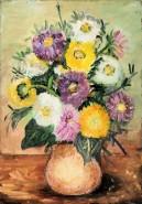 Picturi cu flori Flori de toamna