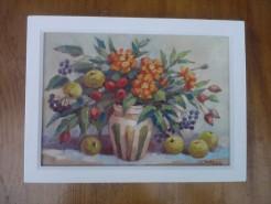 Picturi cu flori Fructele toamnei