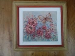 Picturi cu flori Gradina cu flori