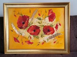 Picturi cu flori Tablou cu maci