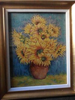 Picturi cu flori flori 01 , anii 90
