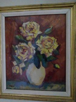 Picturi cu flori flori lV , anii 80