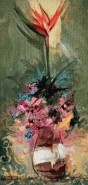 Picturi cu flori Strelitzia