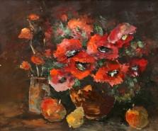 Picturi cu flori Natura statica cu fructe