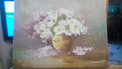 Picturi cu flori flori de gradina 2