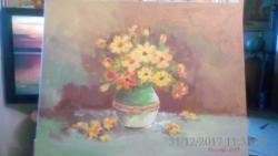 Picturi cu flori flori de gradina 4