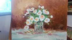 Picturi cu flori flori de gradina 6