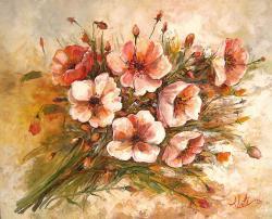 Picturi cu flori Flori in lumina