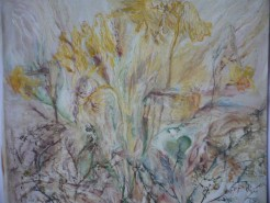 Picturi cu flori Dorinte sfaramate