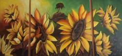 Picturi cu flori Floarea soarelui