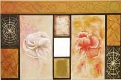Picturi cu flori reflexii