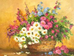 Picturi cu flori COS  CU FLORI..