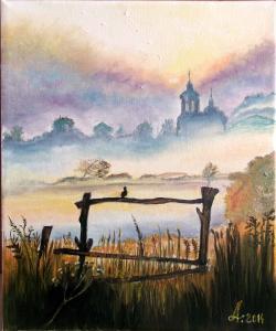 Picturi cu peisaje Morning song