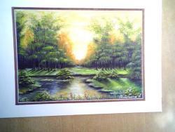 Picturi cu peisaje luminis insorit