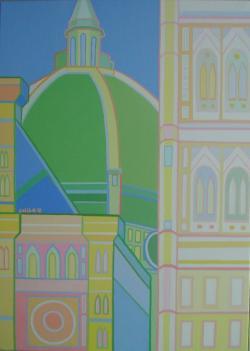 Picturi cu peisaje Firenze