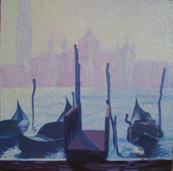 Picturi cu peisaje peisaj Venetia