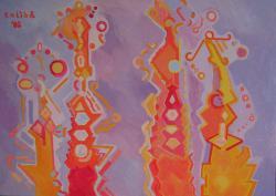 Picturi cu peisaje Sagrada Familia interpretare