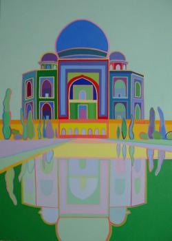 Picturi cu peisaje Taj Mahal