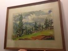 Picturi cu peisaje Bastionul fierarilor brasov