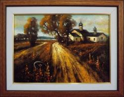 Picturi cu peisaje drumul spre delta