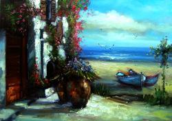 Picturi cu peisaje mediteraneana