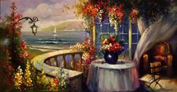 Picturi cu peisaje mediteraneana 2