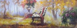 Picturi cu peisaje o zi in parc