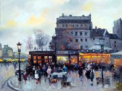 Picturi cu peisaje pariziana 12