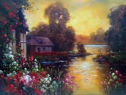 Picturi cu peisaje refugiu 4