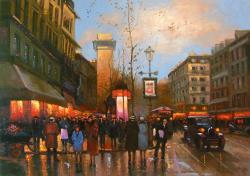 Picturi cu peisaje pariziana 11