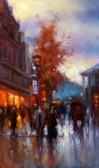 Picturi cu peisaje Pariziana 2